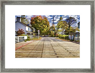 Rural America Framed Print by David Letts