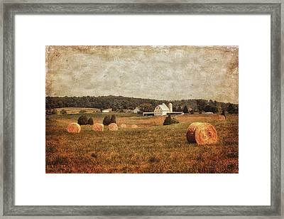 Rural America Framed Print by Kim Hojnacki