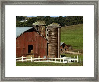Rural Barn Framed Print by Bill Gallagher