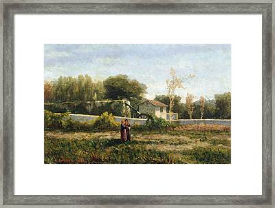 Rural Landscape Framed Print by Ernesto Rayper