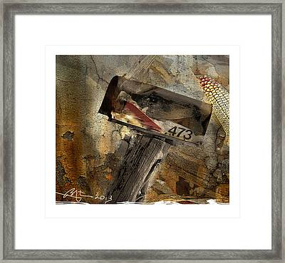 Rural Route 473 Framed Print by Bob Salo