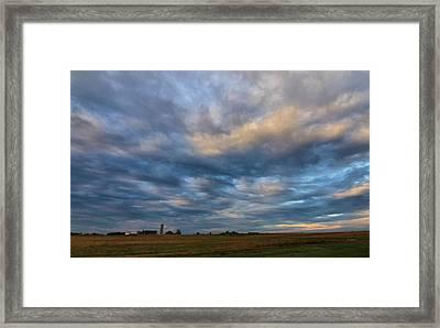 Rural Sunrise Framed Print by Dan Sproul