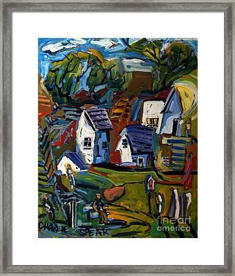 Rural Wahenberg Framed Print by Charlie Spear