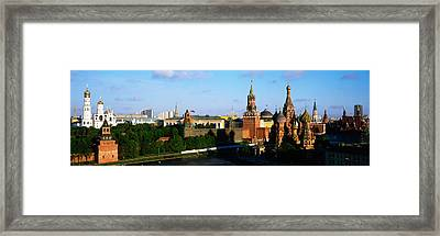 Russia, Moscow, Red Square Framed Print by Panoramic Images