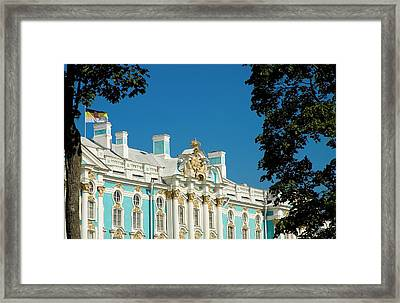 Russia, Pushkin Portion Of Catherine Framed Print by Jaynes Gallery