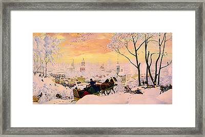Russian Winter Framed Print by Mountain Dreams