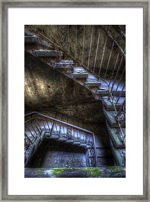 Rust All The Way Down  Framed Print by Nathan Wright