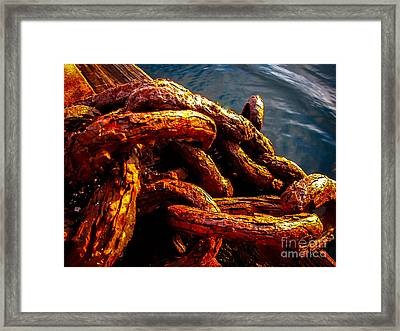 Rust Framed Print by Robert Bales