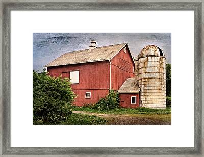 Rustic Barn Framed Print by Bill Wakeley
