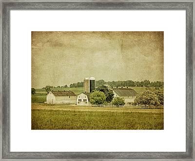 Rustic Farm - Barn Framed Print by Kim Hojnacki
