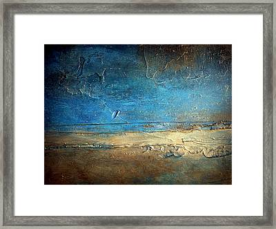 Pier 50 Framed Print by Holly Anderson