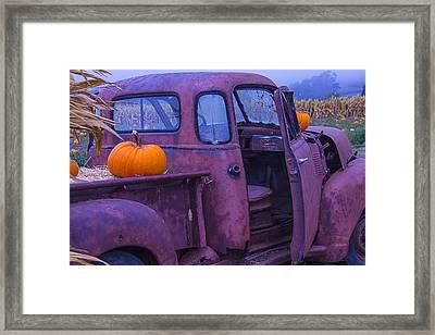 Rusty Autumn Framed Print by Garry Gay