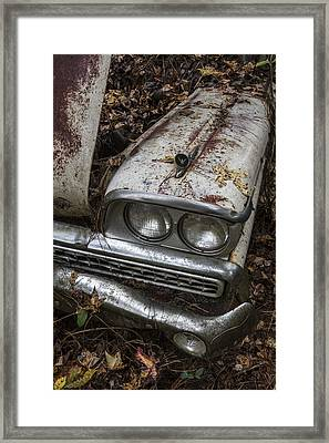 Rusty Classic Framed Print by Debra and Dave Vanderlaan