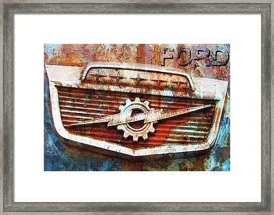 Rusty Ford Framed Print by Greg Sharpe