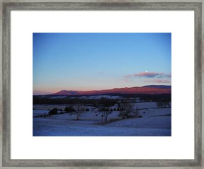 Rusty Morning Framed Print by Michael Wawrzyniec