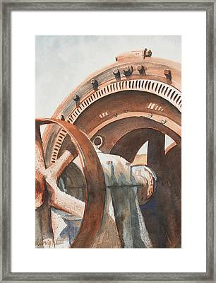 Rusty Relic Framed Print by Pam Albright