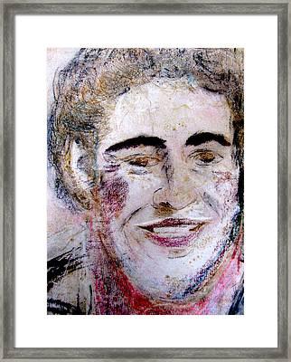 Ruthie's Bruce Framed Print by Melinda Saminski