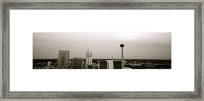 Sa Skyline 001 Framed Print by Shawn Marlow