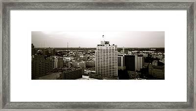 Sa Skyline 002 Framed Print by Shawn Marlow