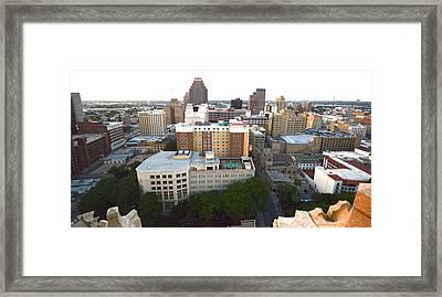 Sa Skyline 005  Framed Print by Shawn Marlow