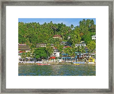 Sabang Framed Print by Pete Marchetto