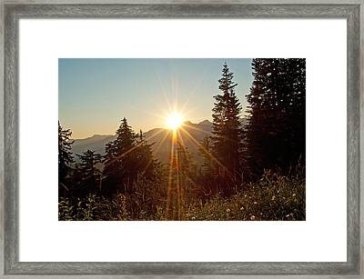 Sabbath Sunset Framed Print by Tikvah's Hope