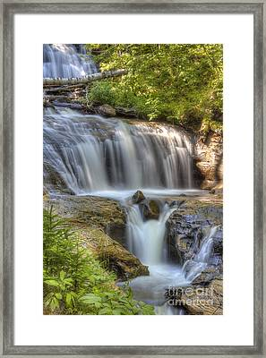 Sable Falls Framed Print by Twenty Two North Photography
