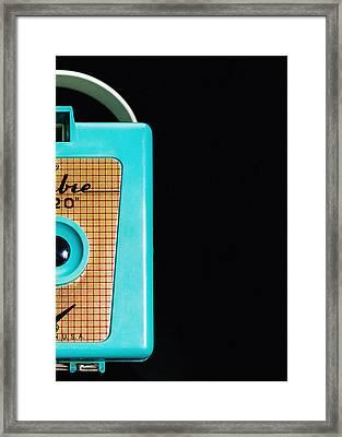 Sabre 620 Camera Framed Print by Jon Woodhams