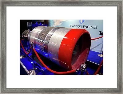 Sabre Rocket Engine Heat Exchanger Framed Print by Mark Williamson