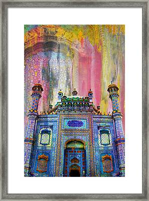 Sachal Sarmast Tomb Framed Print by Catf