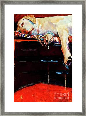 Sacked Framed Print by Molly Poole