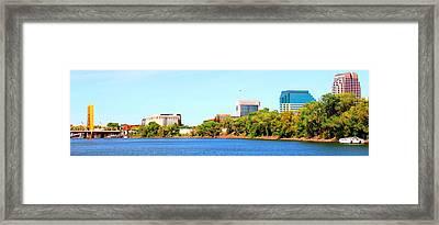 Sacramento Framed Print by Cindi Cereceres