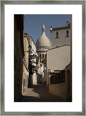 Sacre Coeur 1 Framed Print by Art Ferrier
