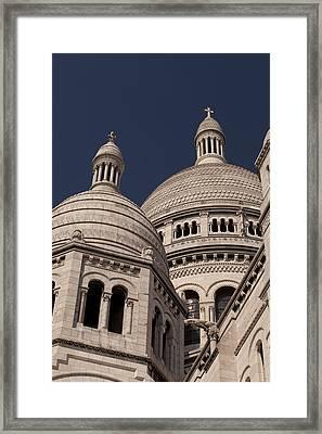 Sacre Coeur 2 Framed Print by Art Ferrier