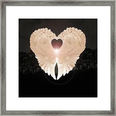 Sacred Angel Framed Print by Eric Kempson
