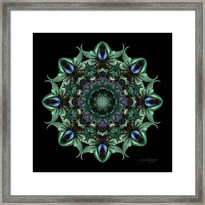 Sacred Aspects - Divine Feminine Framed Print by Karen Casey-Smith