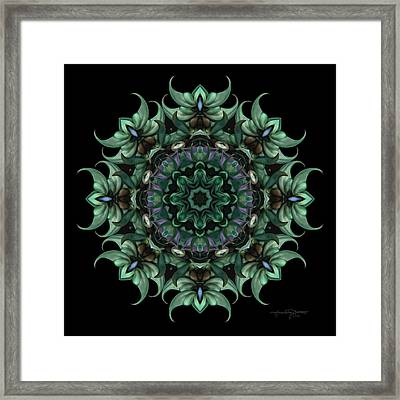 Sacred Aspects - Divine Masculine Framed Print by Karen Casey-Smith