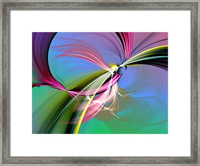Sacred Mysteries Framed Print by Jeff Iverson