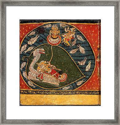 Sacred Paintings Framed Print by British Library