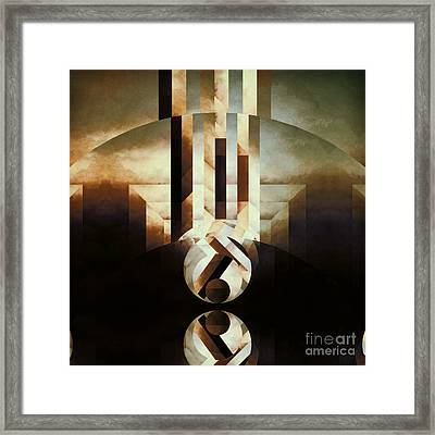 Sacred Reality Framed Print by Lonnie Christopher