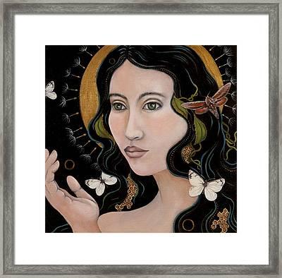 Sacred Framed Print by Sheri Howe