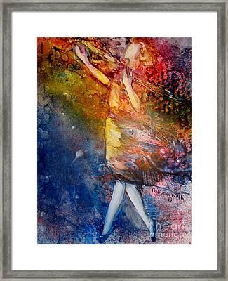 Sacrifice Of Praise Framed Print by Deborah Nell