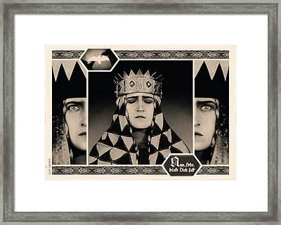 Sacrifice Framed Print by Udo Linke