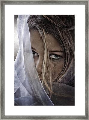 Sad Girl Framed Print by Erik Brede
