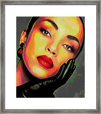 Sade 4 Framed Print by  Fli Art