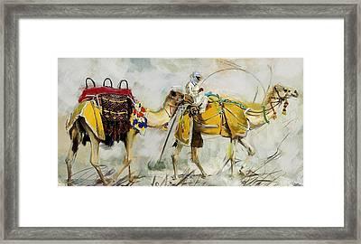 Safari Ride Framed Print by Corporate Art Task Force