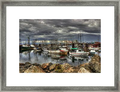 Safe Haven Framed Print by Randy Hall
