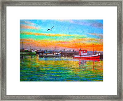 Safely Home Framed Print by Michael Durst