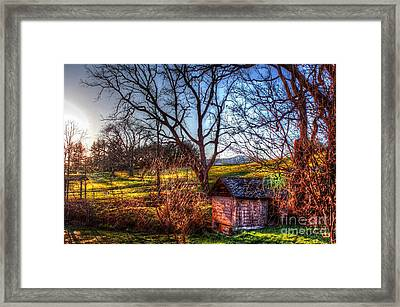 Safety From Impending Nightfall Framed Print by Dan Stone