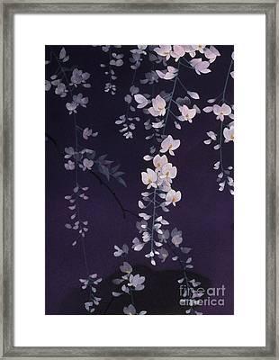 Sagi No Mai Crop II Framed Print by Haruyo Morita